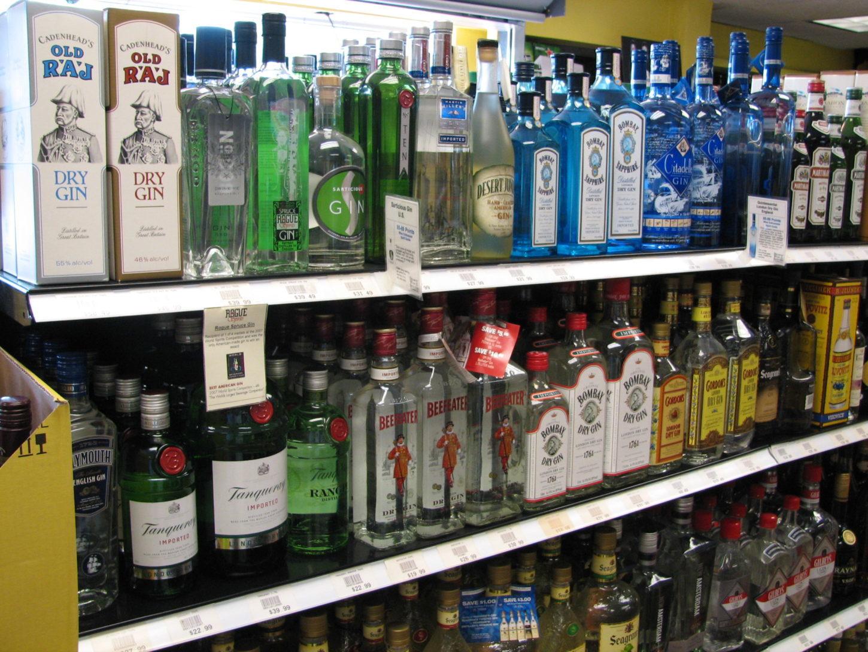 Taxfree sprit gin